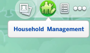 On the neighborhood view, click household Managment