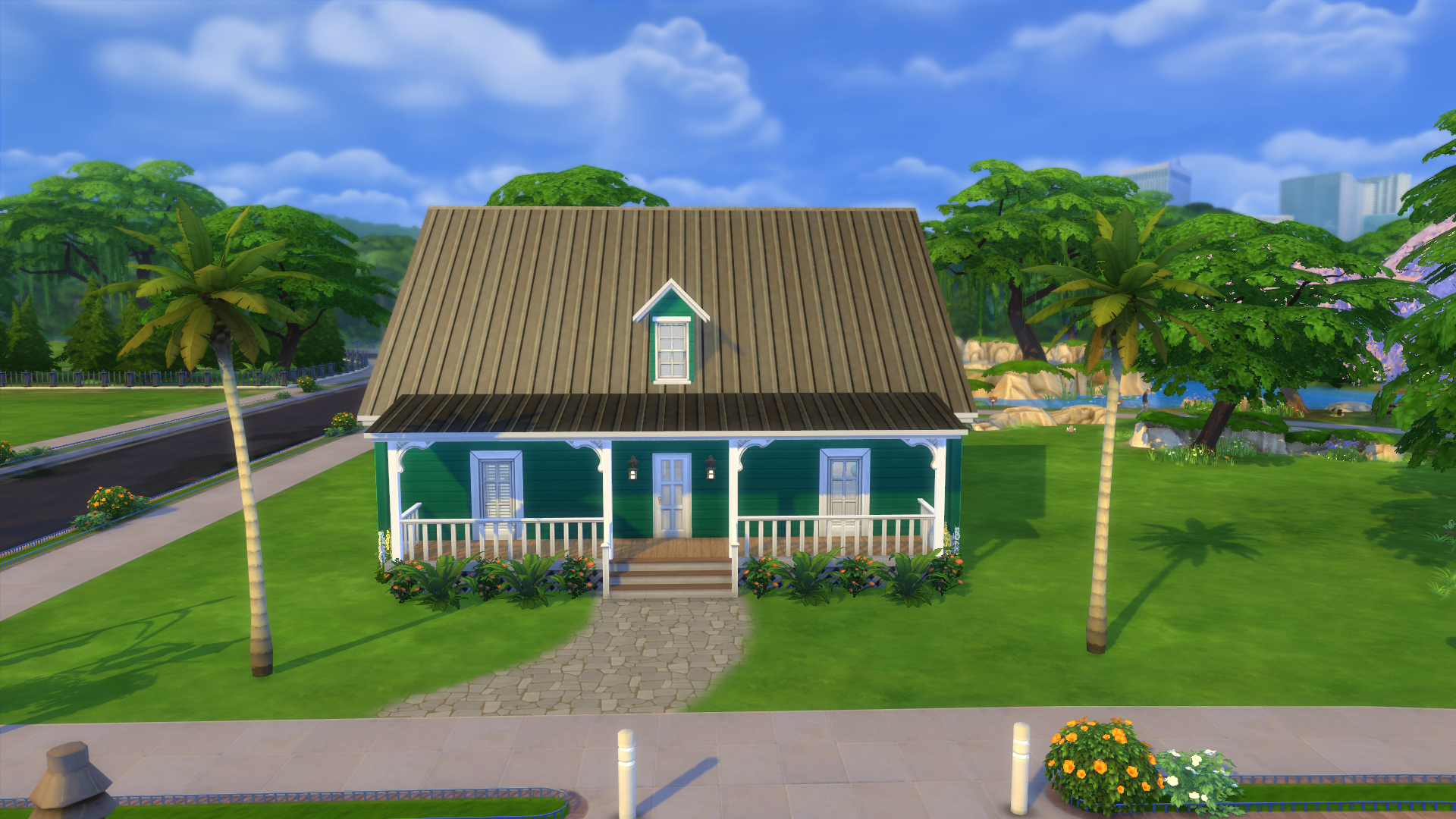 Mystic 39 s sims 4 house builds rory 39 s build challenge for for Legacy house