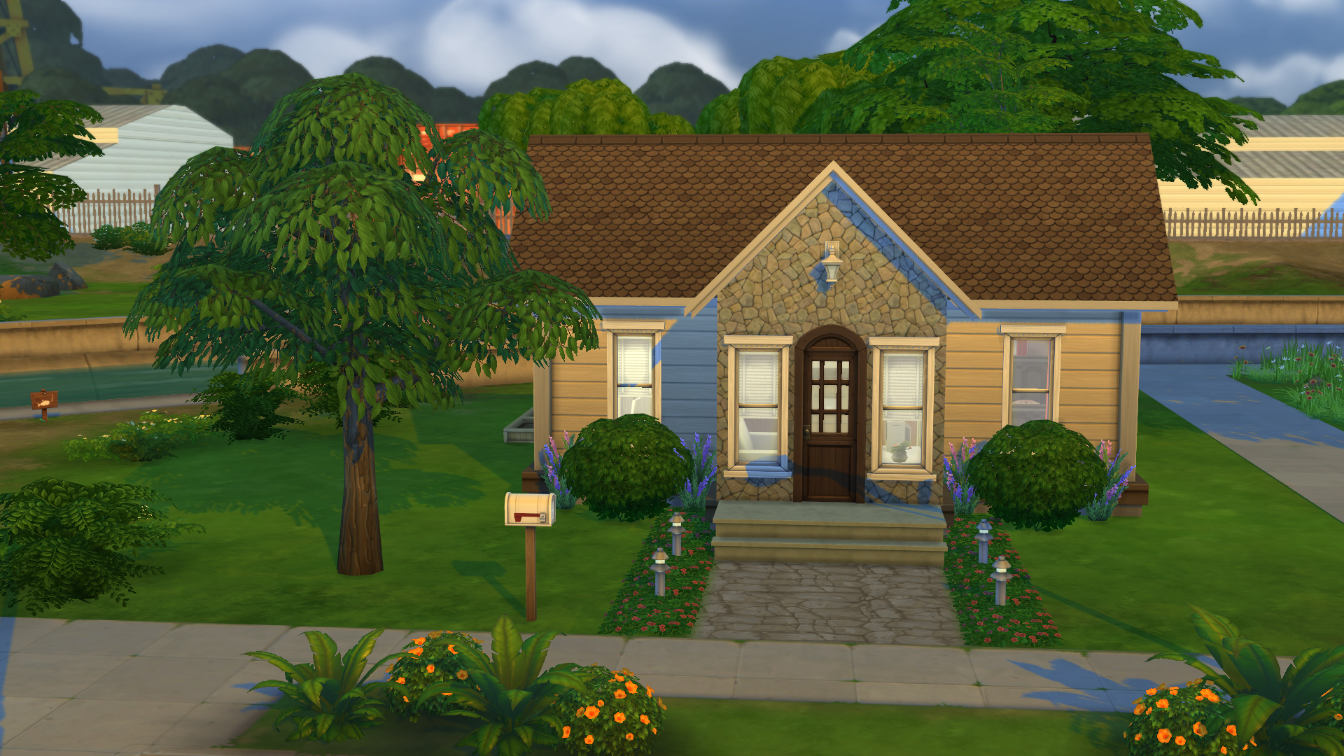 Announcing the sims 4 block party challenge the sims for Legacy house