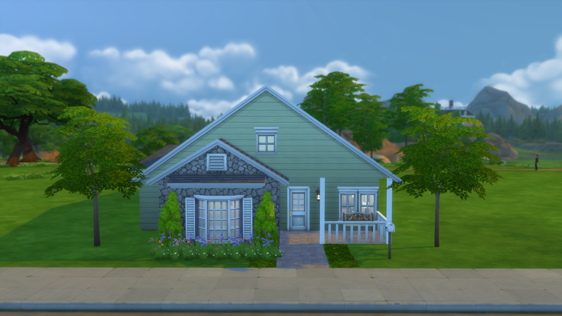 Building My House mystic's sims 4 house builds – trying rory's build challenge