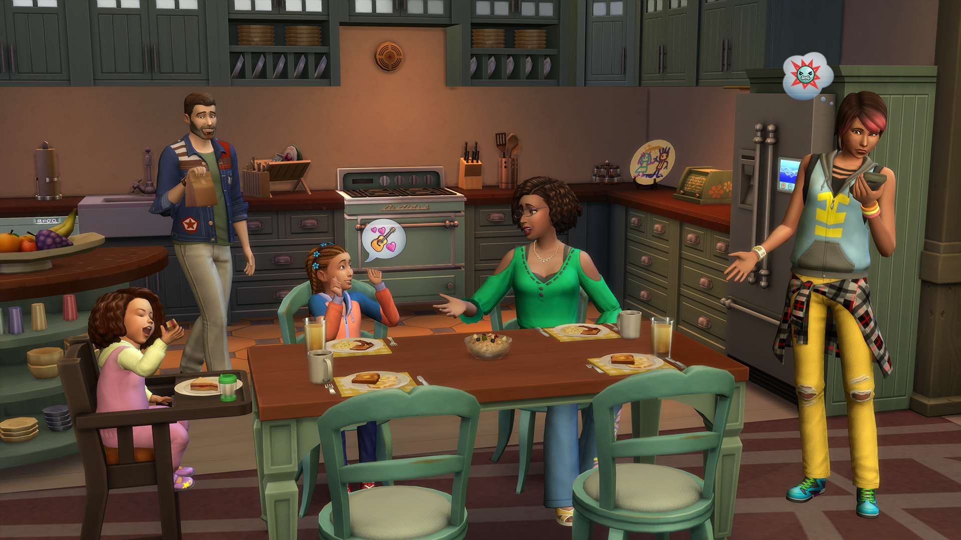 The Sims 4 Parenthood Game Pack Announced The Sims