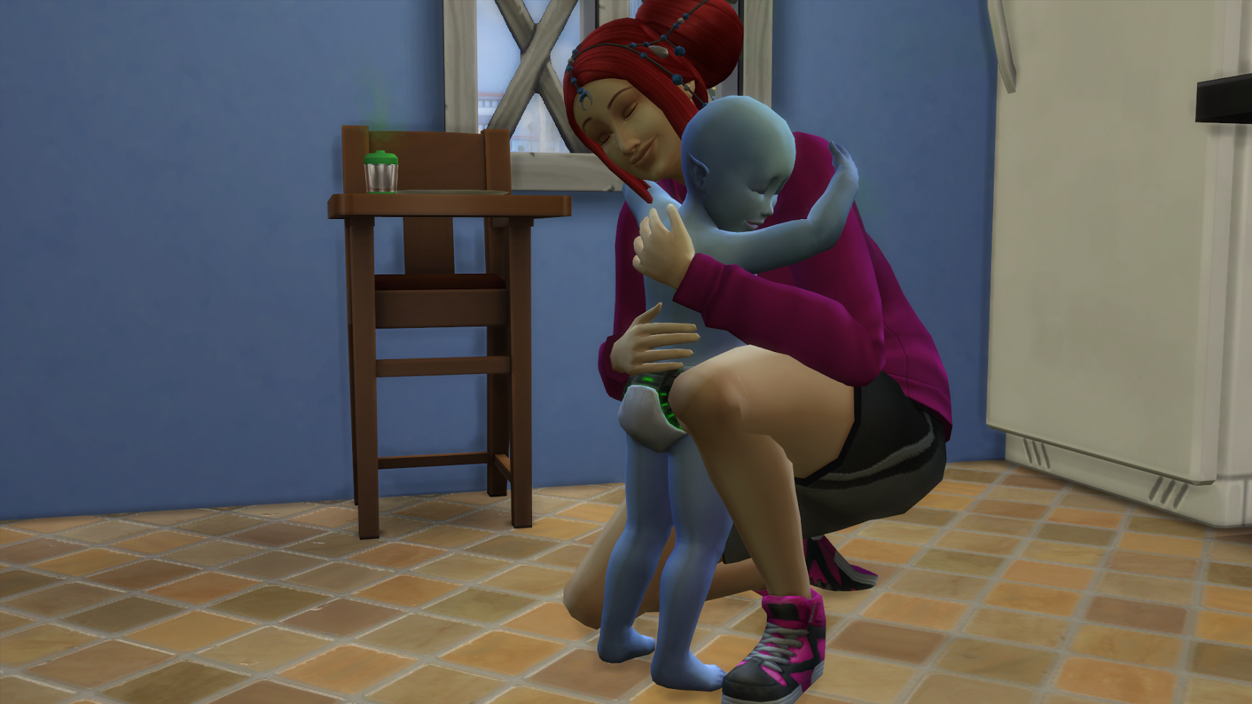 The Alien Adoption Challenge – The Sims Legacy Challenge